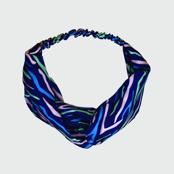 Shima Print Miami Turban Headband