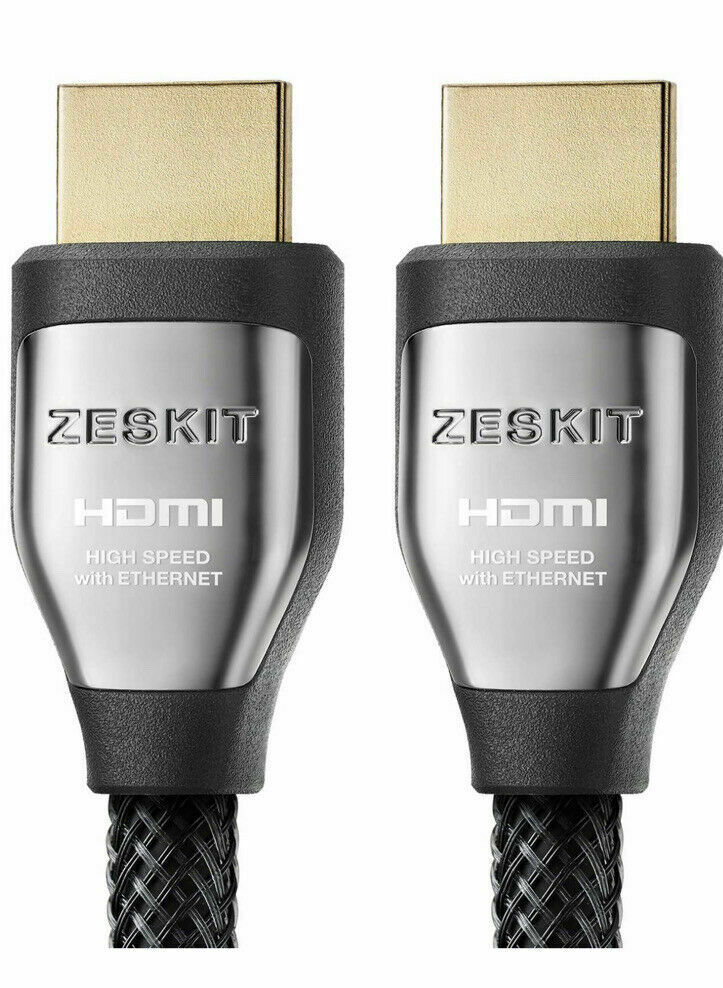 "Zeskit Cinema Plus High Speed HDMI Cable With Ethernet 2M 6'7"" 4K @ 60Hz"