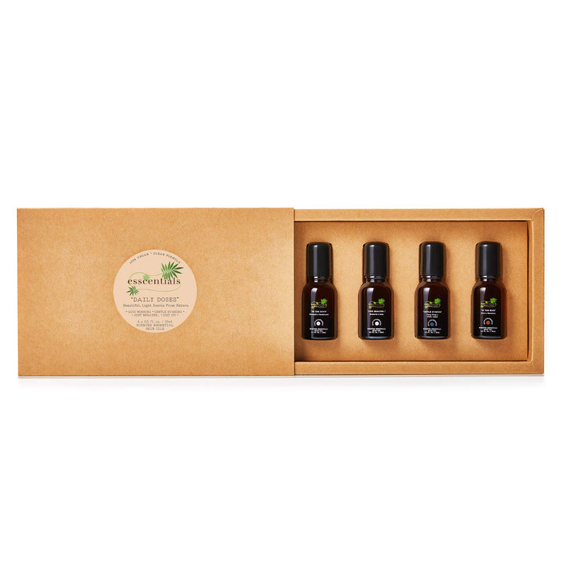ESSCENTIALS, Daily Doses - Skin Oil Rollerball Set