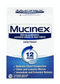 Mucinex 12-Hour Extended Release Chest Congestion Expectorant Tablets, 100 Count