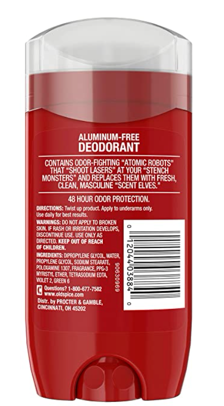 Old Spice High Endurance Long Lasting Deodorant, Fresh