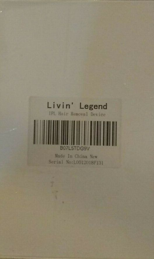 Livin' Legend IPL Hair Removal Device, Pink