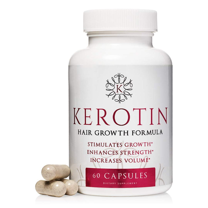 Kerotin Hair Growth Vitamins