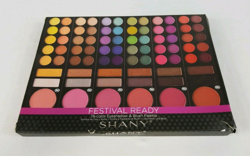 SHANY Cosmetics Festival Ready 78-Color Blush & Eyeshadow Palette