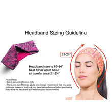 Load image into Gallery viewer, 3 Pieces Women Elastic Stretchy Sport Athletic Fitness Headbands