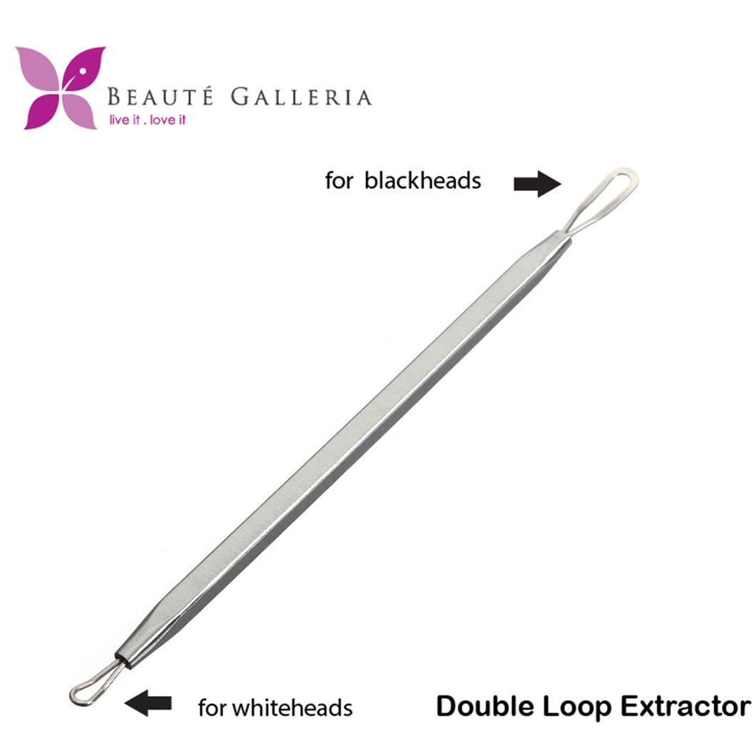 Double Loop Blackhead Remover Pimple Extractor