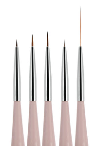 5 Pieces Nail Art Liners and Striping Brushes Set