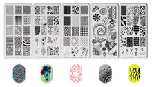 Load image into Gallery viewer, Bundle Premium Nail Art Stamping Set