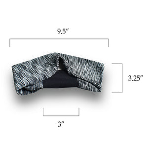 3 Pieces Men Elastic Stretchy Sport Athletic Fitness Headbands