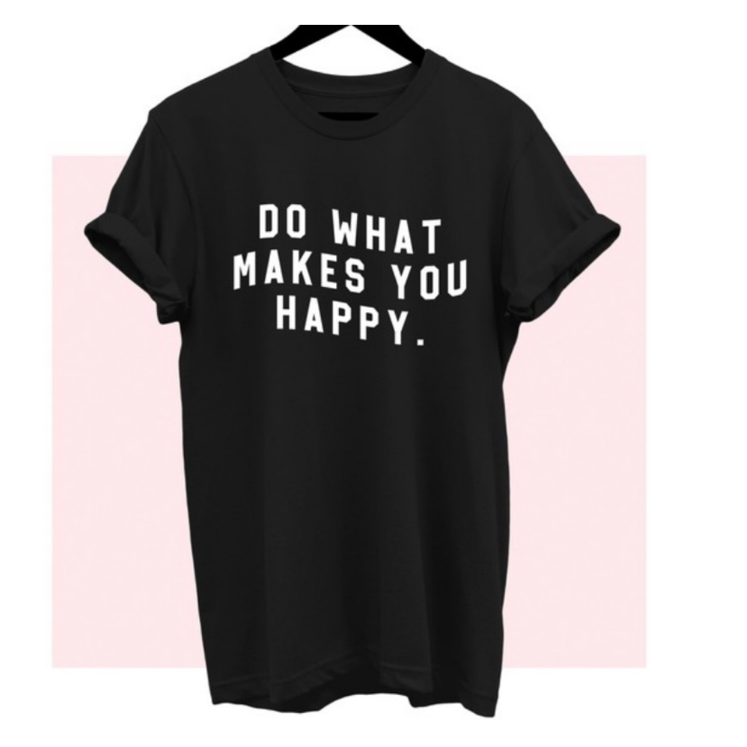 Happiness On Overload Graphic Tee