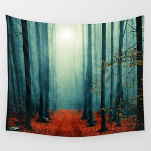 CAMMITEVER Tapestry Misty Forest - tapestryleps
