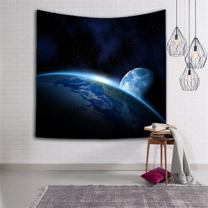 YMQY Tapestry Earth Moon - tapestryleps