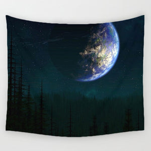 DecorUhome Tapestry Earth Zoomout - tapestryleps