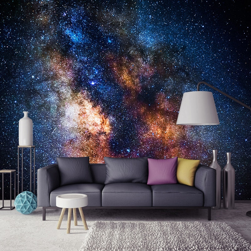jiadou 3D Wall Art Galaxy Stars Background - tapestryleps