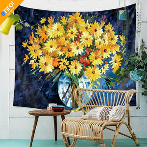 Enrol Tapestry Van gogh- Mini Yellow on Blue - tapestryleps