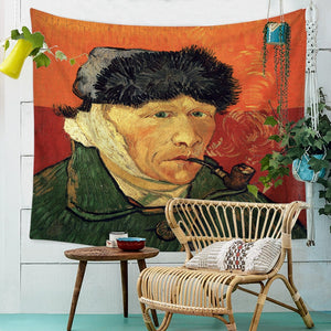 Enrol Tapestry Van gogh - Bandaged Ear And Pipe - tapestryleps