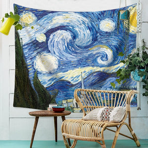 Enrol Tapestry Van gogh - Starry Night - tapestryleps