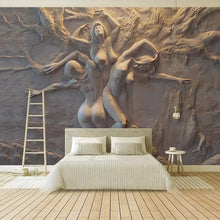 Load image into Gallery viewer, jiadou 3D Wall Art Abstract Body Art - tapestryleps