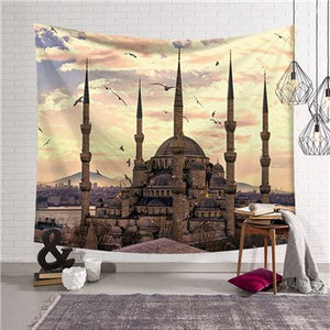 Fudiya Tapestry The Sultan Ahmed Mosque - tapestryleps