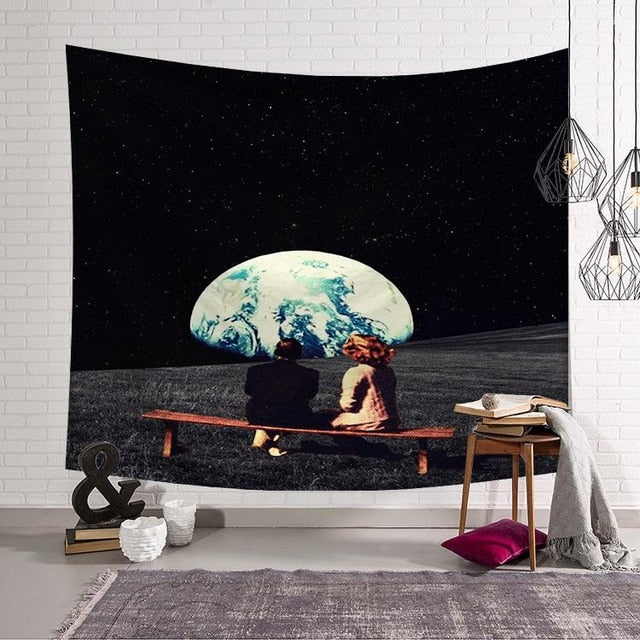 RUBYLOVE Tapestry Space Tourists - tapestryleps