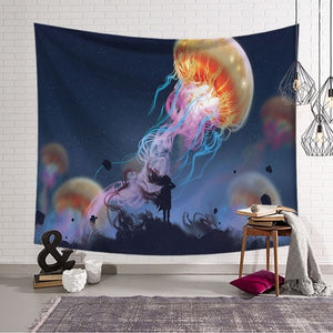 LYN&GY Tapestry Flying Jellyfish - tapestryleps