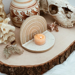 ceramic rainbow mini altar by Easy To Breathe