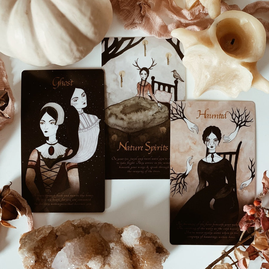 seasons of the witch | samhain oracle deck