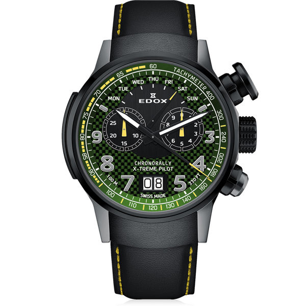 EDOX Chronorally / X-treme Pilot Limited Edition