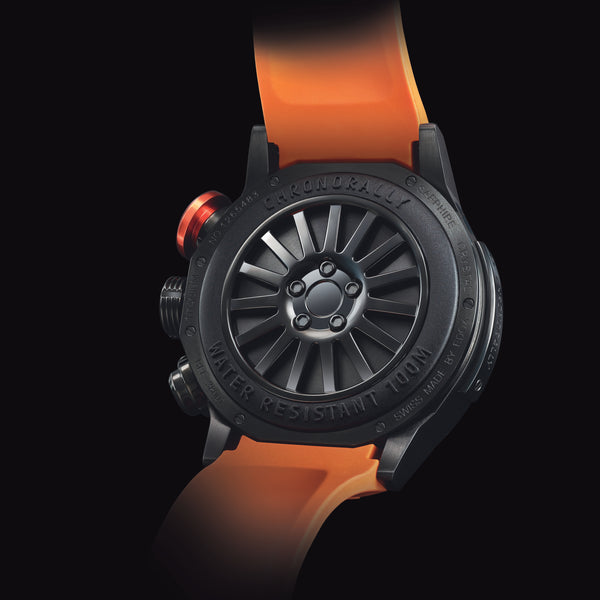 EDOX Chronorally / Orange