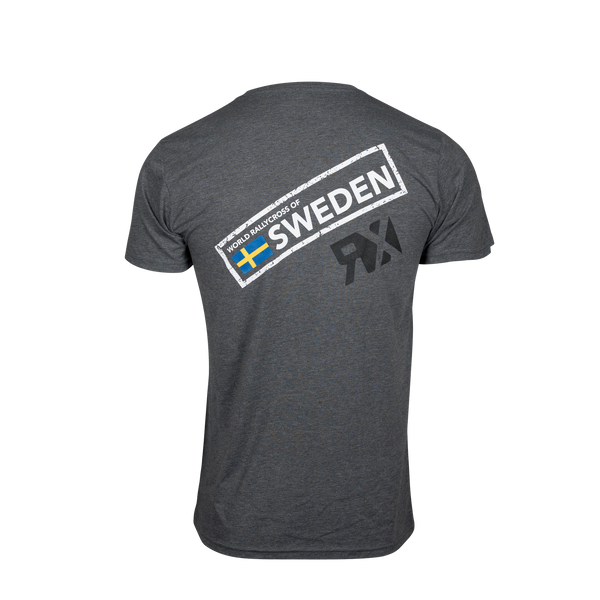 World RX Sweden Event Stamp Dark Grey T-Shirt