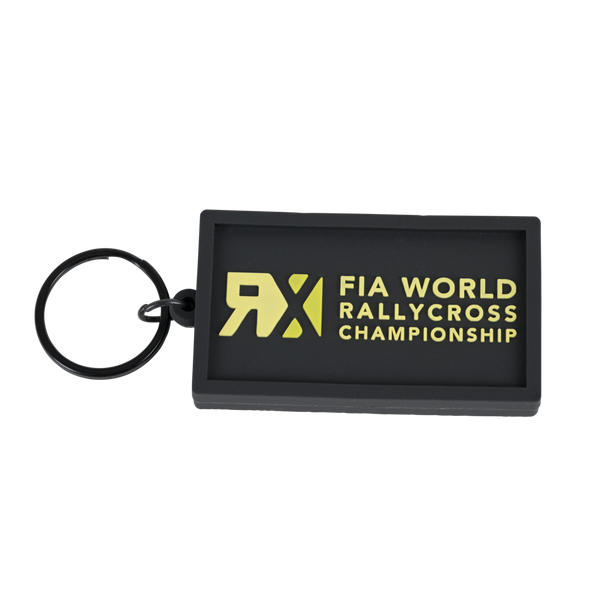 World RX Logo Rubber Keyring