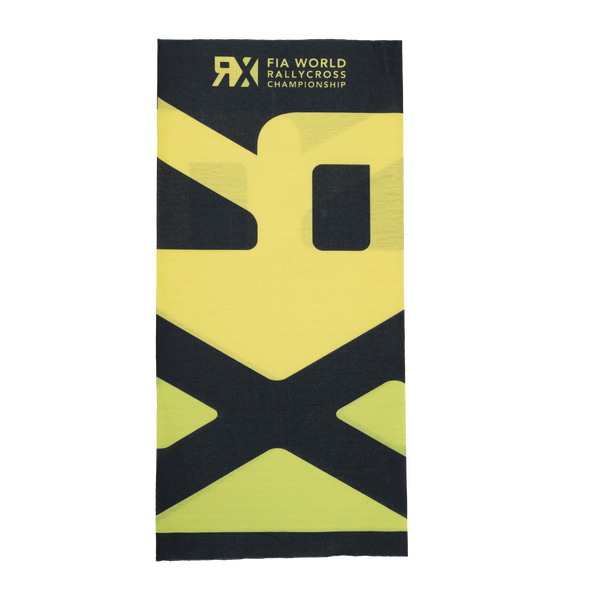 World RX Large Logo Black Tubescarf