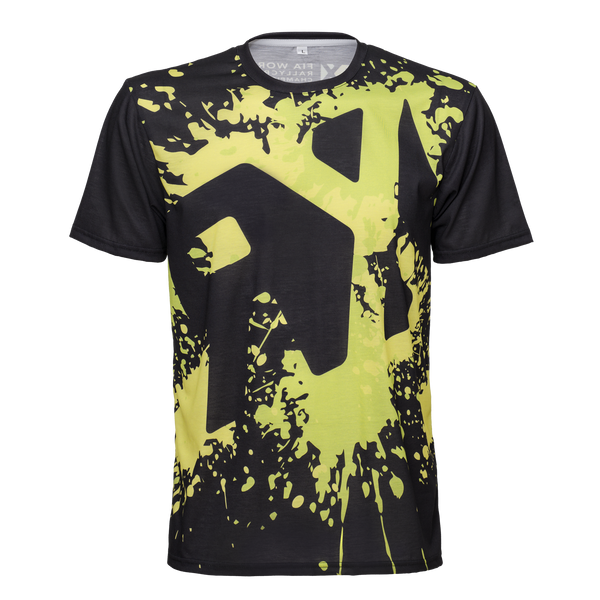 World RX Splash Black Sublimated T-Shirt