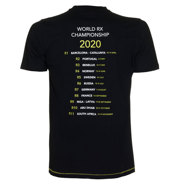 World RX 2020 Calendar T-Shirt