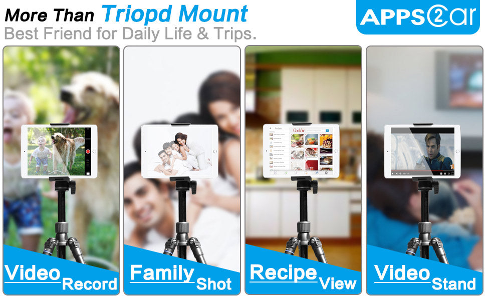 Tablet Tripod Mount Clamp