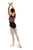 Reese -- Women's Cotton Multi Strap Leotard -- Black