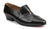 Bernard -- Men's Cuban Slip-on Dress Shoe -- Black
