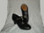 "2.25"" Malaga -- Flamenco Shoe -- Black"