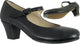 "2.25"" Folklorico Jr. -- Children's Flamenco Shoe --  Black"