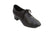 "1.25"" Rory -- Practice Ballroom Tie Shoe -- Black - Teddy Shoes"