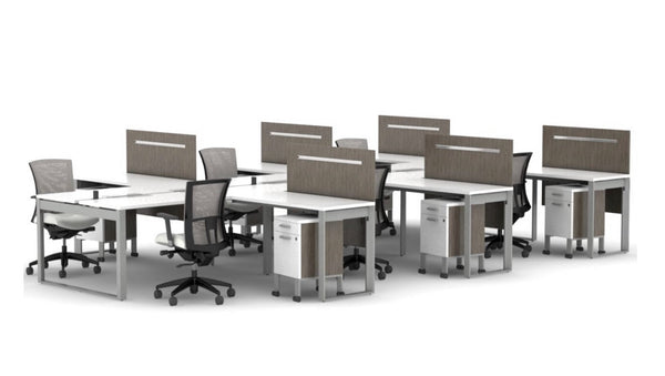 6 Person Workstations Brid5