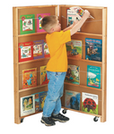 Mobile Library Bookcase (2671JC) JONTI