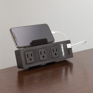 AC Power Center with USB (White or Black)