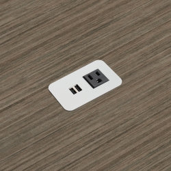 Power Solutions Mini Power/USB Block, Silver (PSCOVS1US)