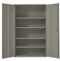 Extra Wide Hi-Boy Storage Cabinet