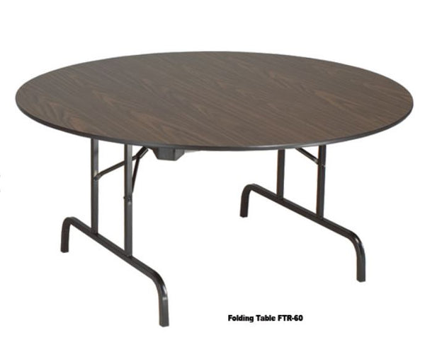 Industrial Round Folding Tables (FTR48LO) (2 sizes)