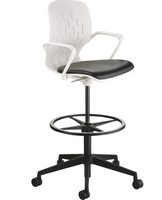 Safco Shell Extended-Height Chair (SAF7014)