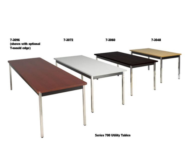 Rectangular Utility Tables Series 700