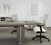 "ZIRA Rectangular Boardroom Table (60"" Wide) 9 Sizes available"
