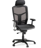 Lorell ErgoMesh Series High-Back Mesh Chair LLR60324